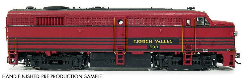 Rapido 21537 HO Scale Alco FA-2 Lehigh Valley Rd  586 W/DCC-sound
