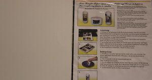 Verzierwachs Foto Transfer Papier DIN A 4 + Anleitung TOP