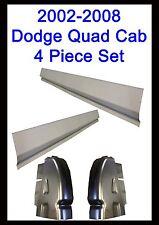 2002-2008 Dodge Ram Quad Cab & Club Cab 4Door Rocker Panels & Cab Corner 4PC Set
