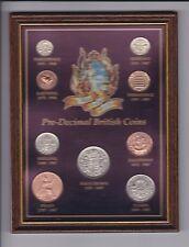 Royal Windsor Collection Pre Decimal British Coins Framed Great Britain UK A-260