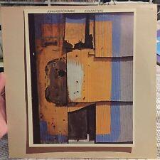 John Abercrombie - CHARACTERS Vinyl ECM/WB Records. With Catalogue!