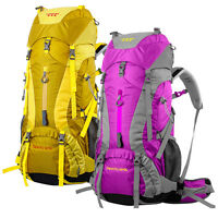 Waterproof 65L Outdoor Sports Backpack Travel Bag Rucksack Internal Frame Large