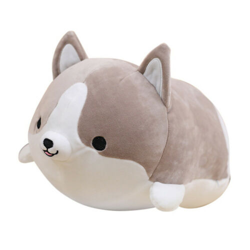 LO New Plush Dog Cartoon Stuffed Animals Puppy Doll Pillow Birthday Gift Toy US