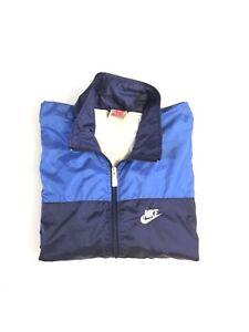 924b37f8b8 Image is loading Vintage-Nike-Windbreaker-Jacket-Air-Colorblock-Lined-90-