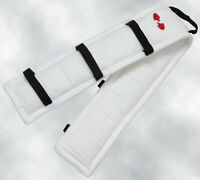 Zilco Driva Puffer Pad White Carriage Driving Harness Saddle Pads Liner