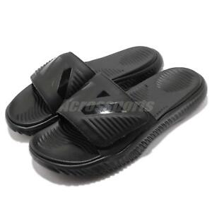 8cbb8a9b6b271 Image is loading adidas-AlphaBounce-Slide-Triple-Black-Men-Sports-Sandals-