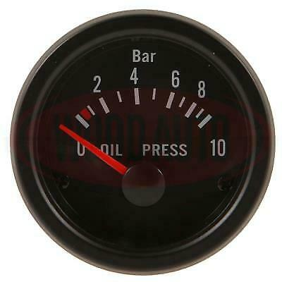 NEW 1 X Oil Pressure Gauge Electricial And Sender Kit Wood Auto Mtr1005B12