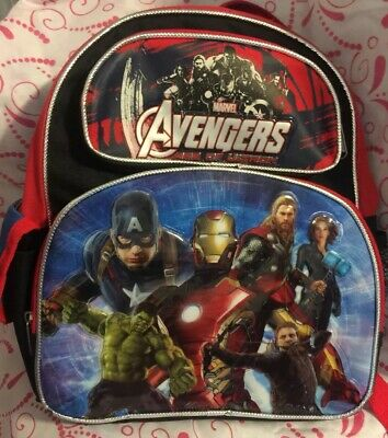 Avon Marvel Avengers AGE OF ULTRON Swim Bag Iron Man Thor Captain America Hulk