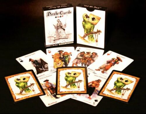 PIRATE CARRDS- 52 card deck. Pirate playing cards (DON MAITZ ART) New, Sealed