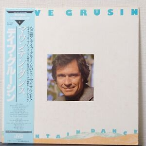 DAVE GRUSIN MOUNTAIN DANCE JVC VIJ-6326 Japan OBI VINYL LP