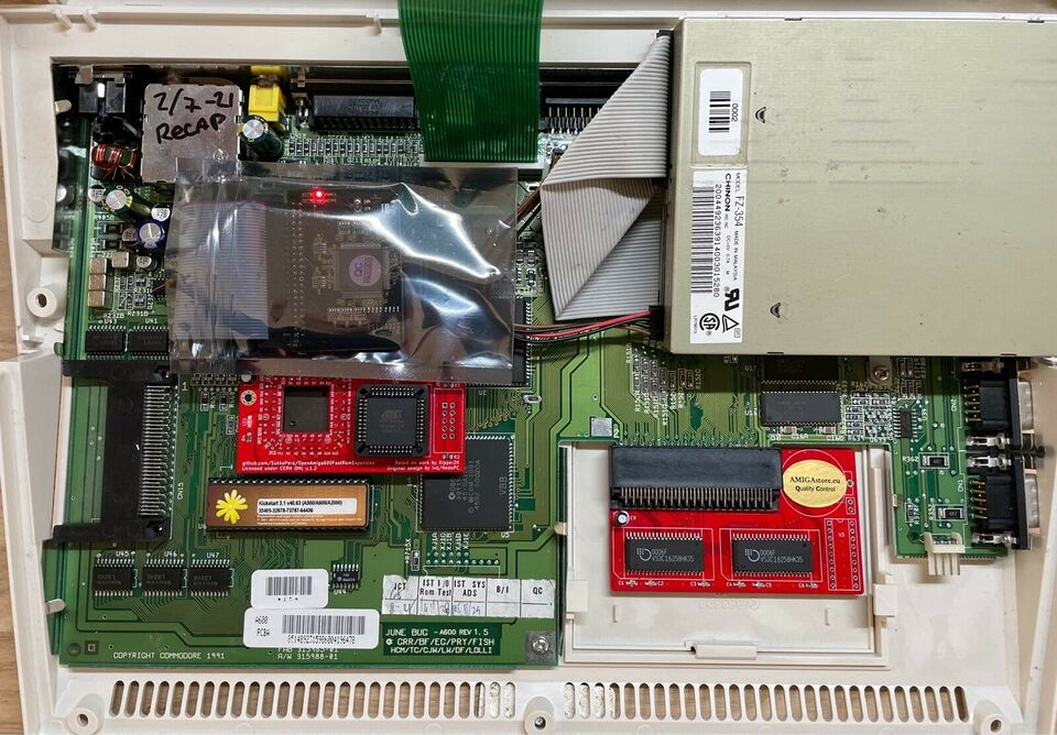 Commodore Amiga 600, arkademaskine, Perfekt