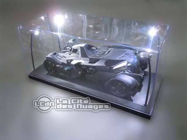 1/18 Boite vitrine avec 4 LED Lighted Display case Showcase Diecast car voiture