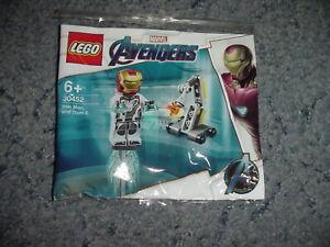Brand New /& Sealed LEGO 30394 Minecraft /& LEGO 30452 Marvel Iron Man Polybag