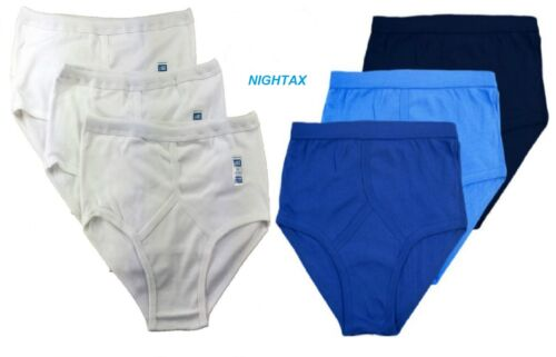 Sizes: S, M, L, XL, XXL Mens Y-Fronts Underwear 100/% Cotton