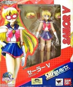 In-STOCK-S-H-Figuarts-034-Sailor-V-034-Moon-20th-Anniversary-Bandai-Action-Figure