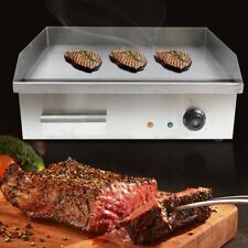 3000w Commercial Restaurant Electric Griddle Flat Top Grill Bbq Countertop Plate