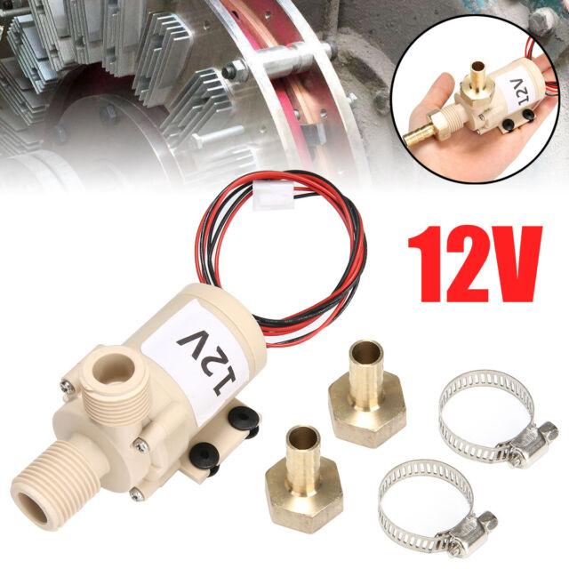 Solar 12 V DC Hot Water Circulation Pump Brushless Moteur Pompe à eau 3 m