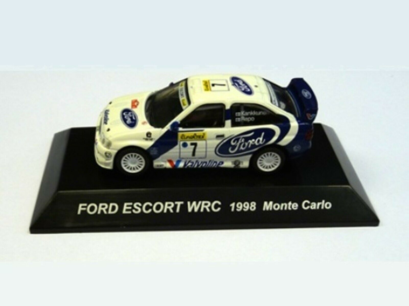 WOW EXTREMELY RARE Ford  Escort RS Cosworth 1998  7 M.voiturelo WRC 1 64 CM's Kyosho  prix les plus bas