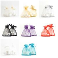 7x9cm Luxury ORGANZA BAGS Favour Wedding Gift Jewellery Pouches