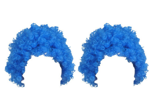 Blue Afro Wig Thing 1 and 2 Hair Seuss World Book Day Fluffy Cat Hat Seuss Week