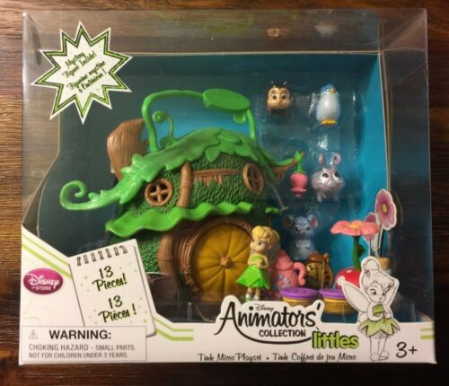 Disney Fairies Animators/' Collection Littles Tinker Bell Micro Playset FREE SHIP