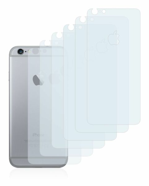 Apple iPhone 6S Plus (Back entire surface) 6x Transparent ULTRA Screen Protector