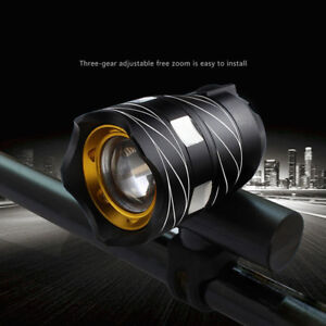 USB-Rechargeable-XML-T6-LED-Bicycle-Bike-Light-Front-Cycling-Light-Head-Lamp-US