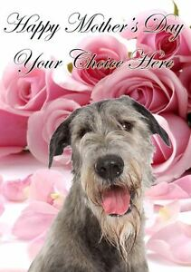 Irish wolfhound mothers day personalised greeting card pidmother mum image is loading irish wolfhound mothers day personalised greeting card pidmother m4hsunfo