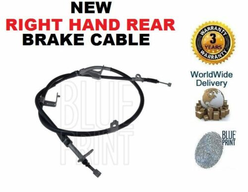 FOR NISSAN PATHFINDER 2.5DT 3.0DT 4.0i 2005--/> NEW RIGHT HAND REAR BRAKE CABLE