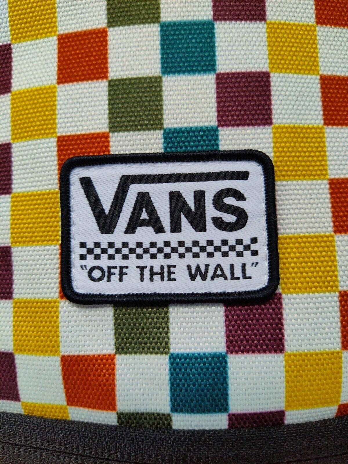 Vans Motivee 3-B Multicolor Checkerboard Unisex Backpack (Off The Wall )Vintage