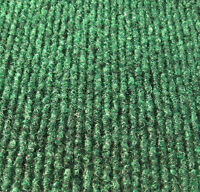 Green Indoor Outdoor Area Rug Carpet Non-skid Marine Backing Unbound