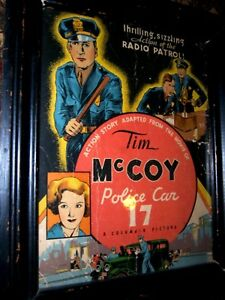 COVER-ONLY-Tim-McCoy-Police-Car-17-Whitman-1934-First-Movie-Adaptation-In-Comics