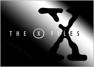 A3 A4 Sizes A0 The X Files Logo Poster Art Print A1 A2