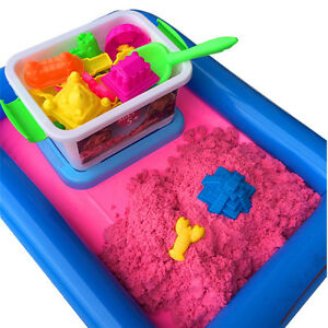 Colorful Magic Motion Sand 50g Kinetic Kid Child DIY Indoor Play Craft Non Toxic
