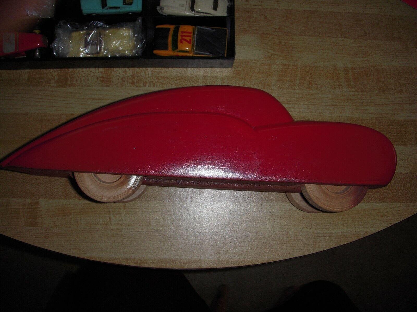 Large Holzen Art Deco Spielzeug voiture Promo voiture Chrysler MOPAR or GM zeigen Piece