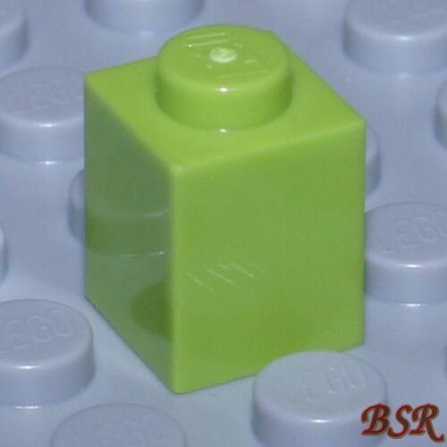 Bb04 80 piezas color verde claro 1x1 bloques de creación//piedras bloques de creación 3005 /& nuevo!
