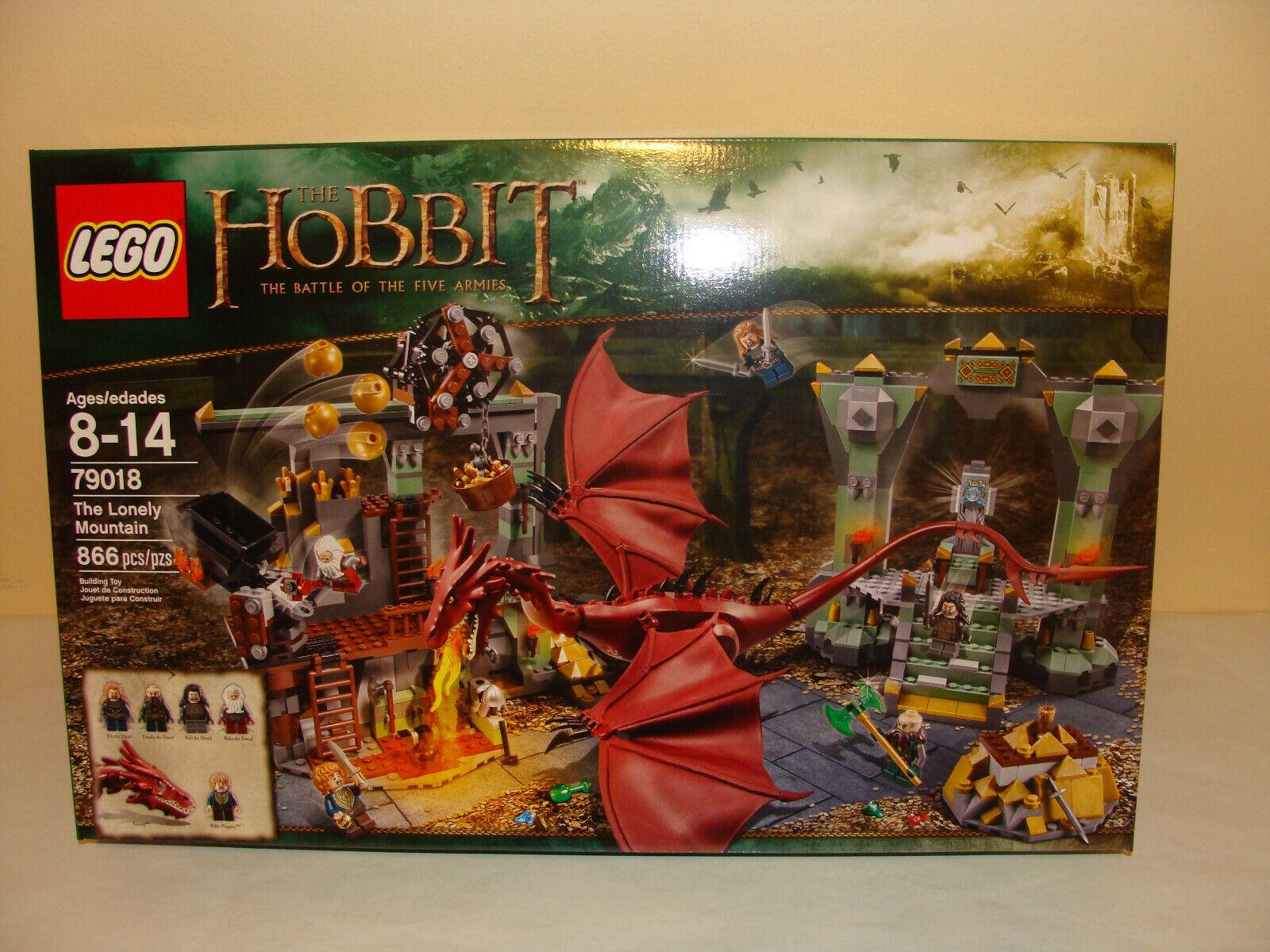 Lego 79018 HOBBIT Montagne Solitaire Ensemble 866  pièces retraité boîte scellée  prix ultra bas