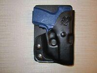 Kahr Pm9,cm9 With Crimson Trace Laser, Formed Left Hand, Wallet & Pocket Holster