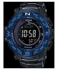 f16b7ddaced Casio Pro Trek PRW-3500SYT-1D Triple Sensor Solar Titanium Band Sport Watch
