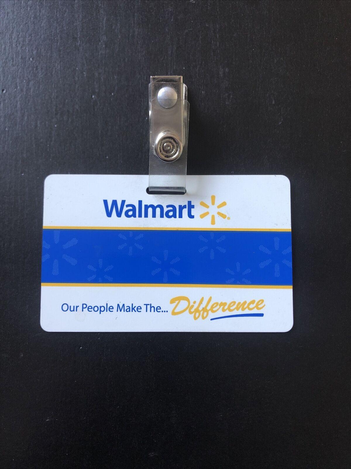 Walmart Employee Name Badge Halloween For Sale Online Ebay