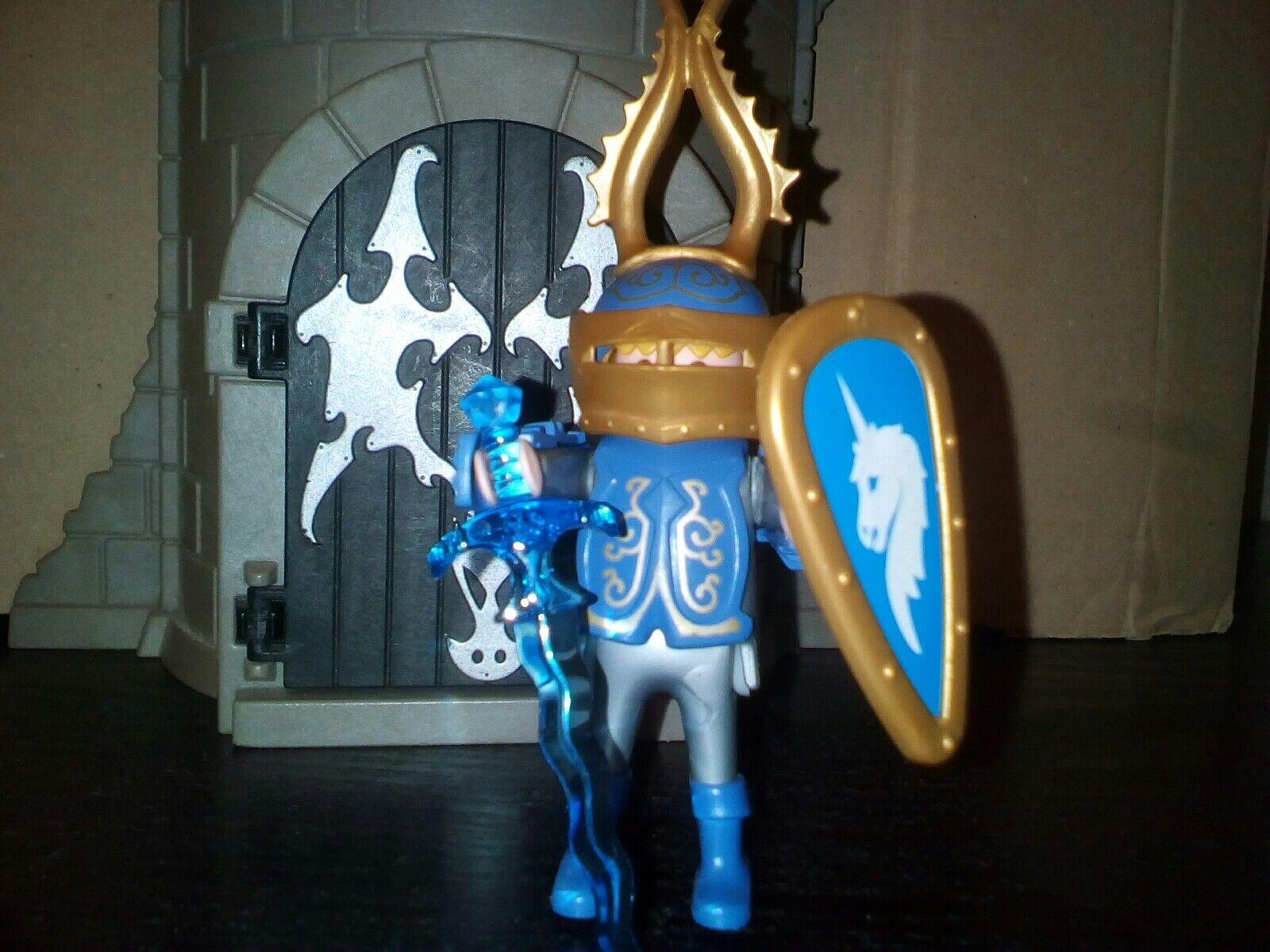 PLAYMOBIL COLLECTOR chevalier de la licorne Unicorn 3977 rare rare rare 9435eb