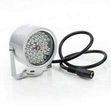 48 LED ILLUMINATORE IR visione notturna a infrarossi Lampada per CCTV camera UR-UK