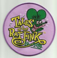 Officially Licensed Ed big Daddy Roth Tales Of The Rat Fink Hot Rod Patch Prpl