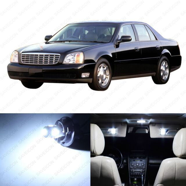 13 X Ultra White Led Interior Light Package For 2000 2005 Cadillac