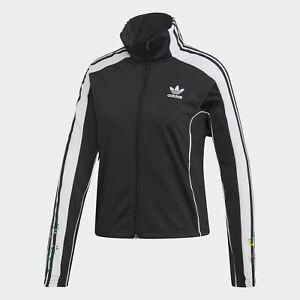 giacca-adidas-donna-nera-con-bande-tuta-TRACK-JACKET-FLORAL
