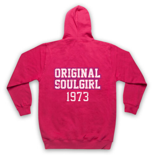 ORIGINAL SOUL GIRL 1973 NORTHERN SOUL MUSIC 70/'S DANCE ADULTS KIDS HOODIE