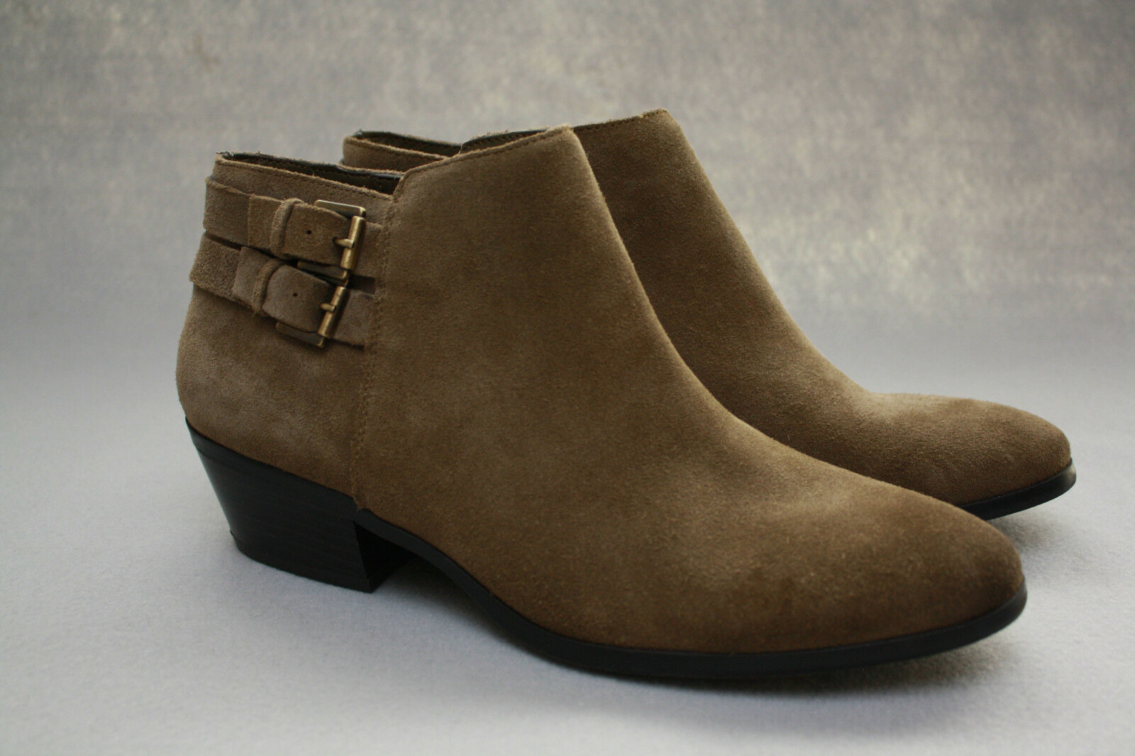Sam Edelman Petal Booties Suede Ankle Boots in Olive Green Sz 10 NEW