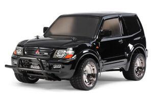 Kit de charge rapide pour jumeaux: Kit Tamiya 58627 Mitsubishi Pajero Noir Cc01 Rc