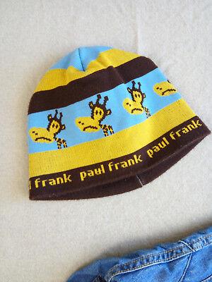 100% Wahr Paul Frank~so Süße Mütze Kappe Mit Affen Gr 80 86 92 98 48 49