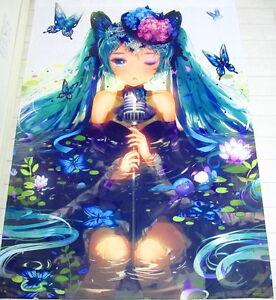 Miku Hatsune (Vocaloid) Anime Manga Bettlaken Spannbetttüche<wbr/>r 150X210cm Neu